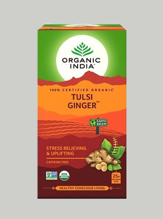 Picture of Organic India-  Tulsi Ginger 25 Tea Bags