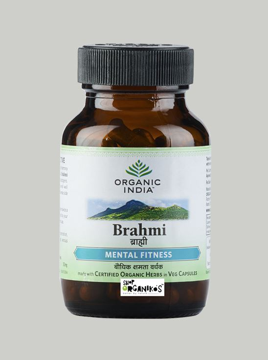 Picture of Organic India- Brahmi 60 Capsules