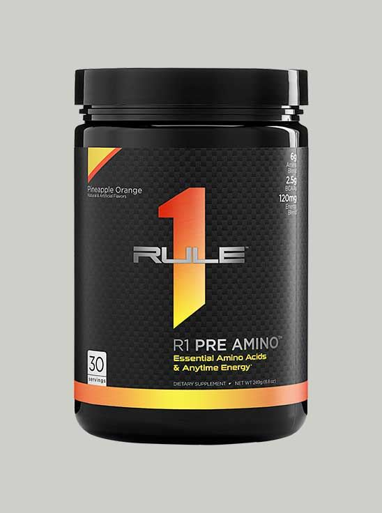 Rule 1 Pre-Amino Peach Mango 30 Servings