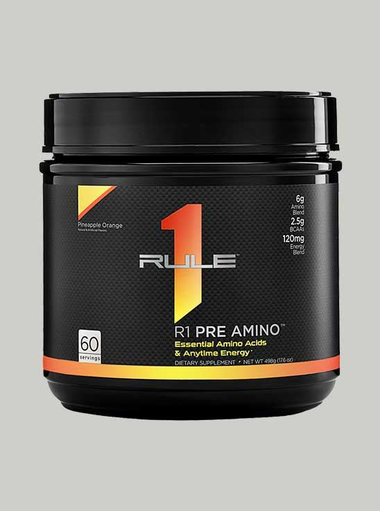 Rule 1 Pre-Amino Peach Mango 60 Servings