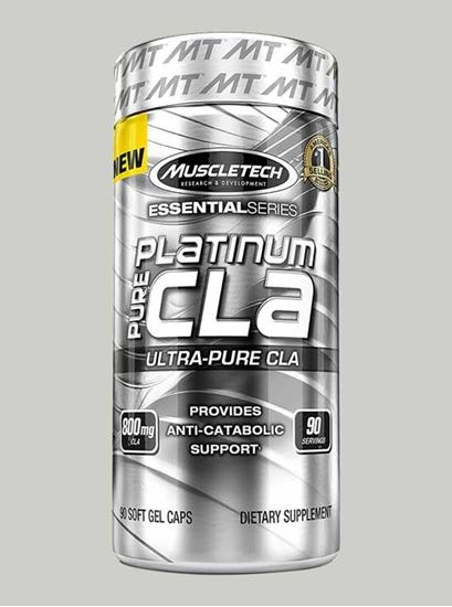 Picture of MuscleTech- Platinum Pure CLA 800mg 90 Caps