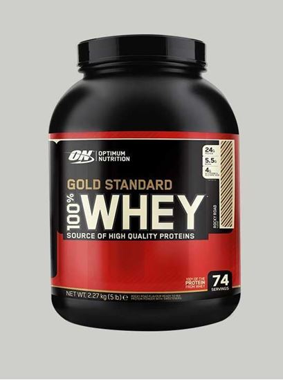 Picture of ON 100% Gold Standard Whey Protein Double Rich Chocolate 5 Lbs