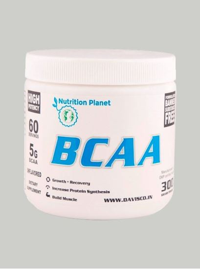 Picture of Nutrition Planet - BCAA Unflavoured 300g