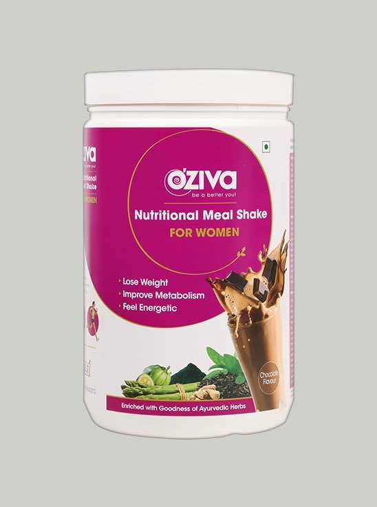 Picture of Oziva- Meal Shake Women High Protein Meal Replacement Chocolate 2.2 Lbs