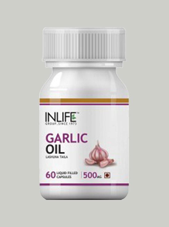 Picture of INLIFE- Natural Garlic Oil 60 Caps