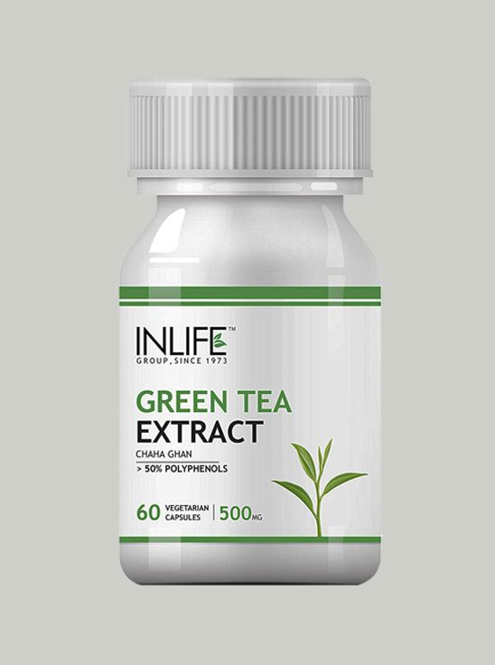 Picture of INLIFE- Green Tea Extract 500mg 60 Caps