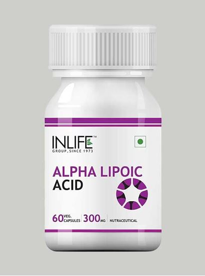 Picture of INLIFE- Alpha Lipoic Acid 300 mg 60 Caps