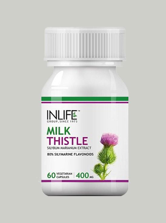 Picture of INLIFE- Milk Thistle  400mg 60 Caps