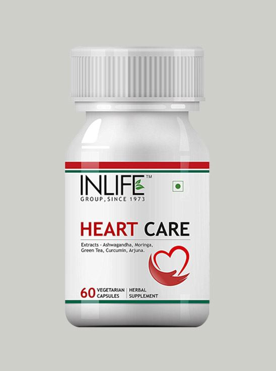 Picture of INLIFE- Heart Care 500 mg  60 Caps