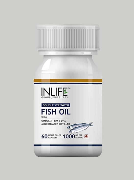 Picture of INLIFE- Fish Oil Double Strength 1000 mg  60 Caps