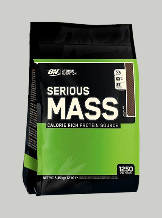 Optimum Nutrition - ON Serious Mass Chocolate 12 lbs