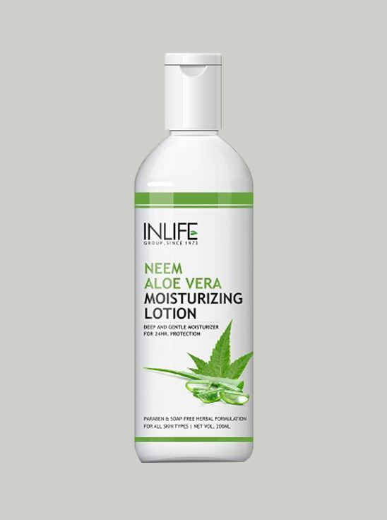 Picture of INLIFE- Natural AloeVera Neem Moisturizing Face Lotion 200ml