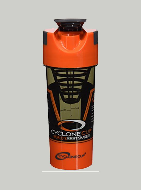 Picture of CycloneCup Protein Shaker Orange 500 ml