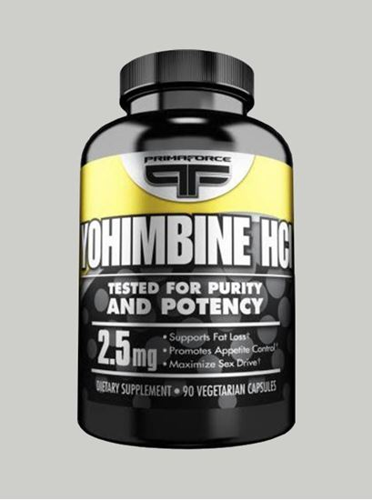 Picture of Primaforce Yohimbine HCI 2.5 mg 90 Veg Capsules