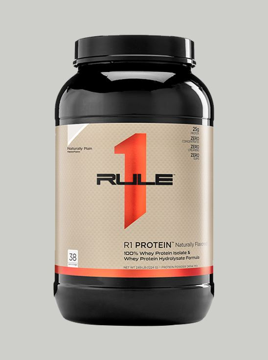 Picture of Rule 1 R1 Whey Protein Naturally Plain 2.39 lbs (Short Shelf Life)