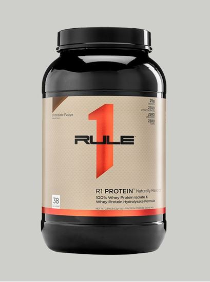 Picture of Rule 1 R1 Protein Chocolate Naturally Flavored 2.7 lbs