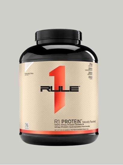 Picture of Rule 1 Whey Protein Naturally Plain 4.78 lbs