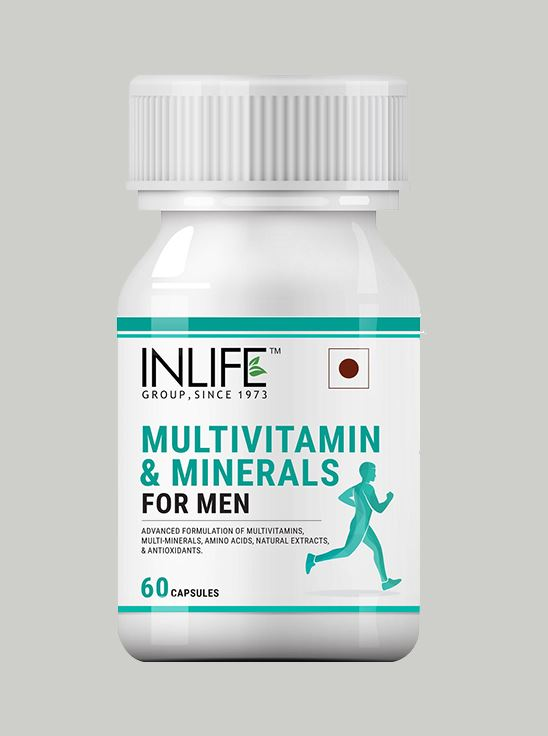 Picture of INLIFE Multivitamins & Minerals for Men - 60 Capsules