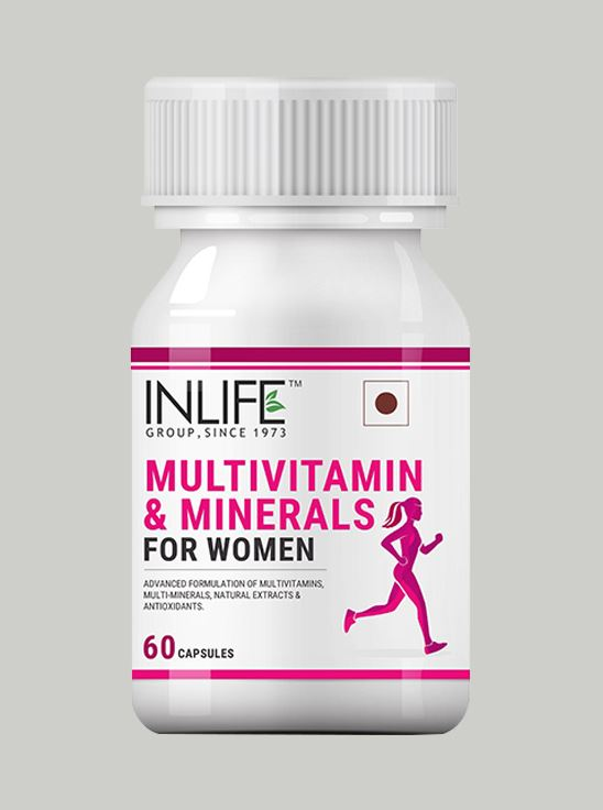 Picture of INLIFE Multivitamins & Minerals for Women - 60 Capsules