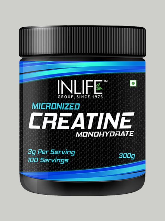 Picture of INLIFE Micronized Creatine Monohydrate Supplement 300 grams