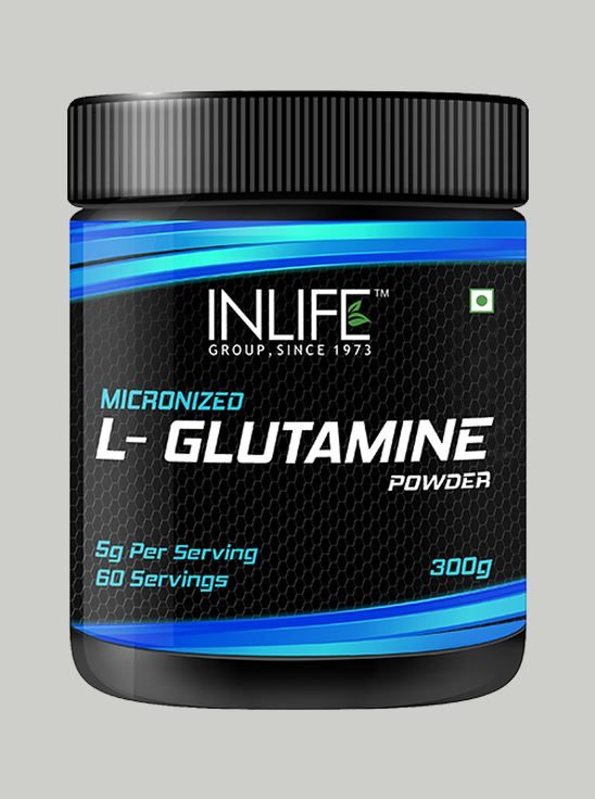 Picture of INLIFE Micronized L - Glutamine Supplement 300 grams