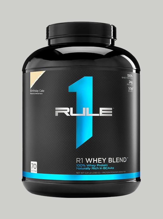 Picture Of Rule 1 Whey Blend Protein Birthday Cake 5 Lbs