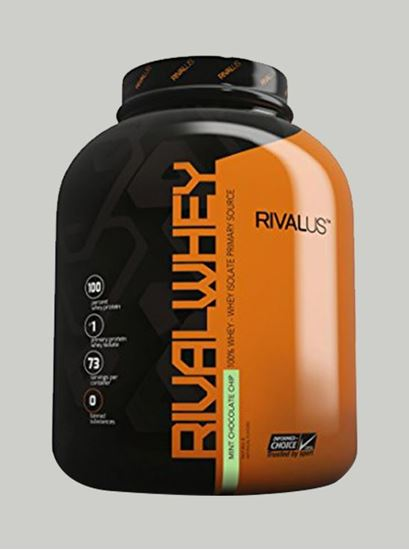 Picture of Rival Whey Protein Mint Chocolate Chip 5 lbs