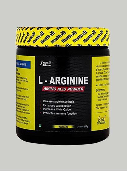 Picture of Healthvit L-Arginine Pre-workout 200 Grams Unflavoured
