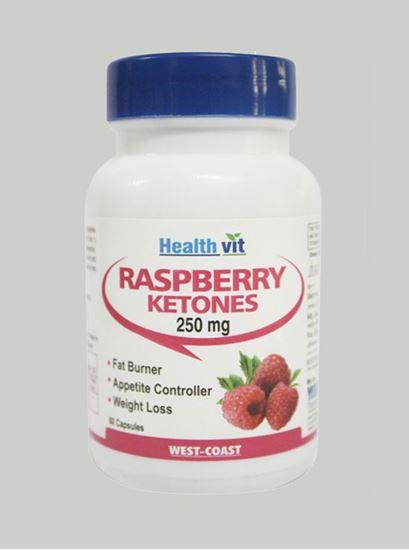 Picture of Healthvit Pure Raspberry Ketones 250 mg 60 capsules