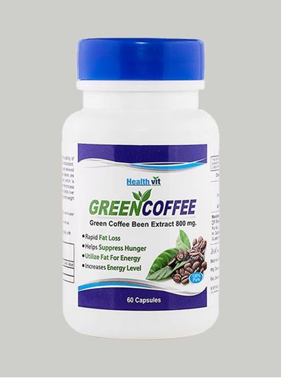 Picture of Healthvit Green Coffee Bean Extract 800 mg 60 capsules