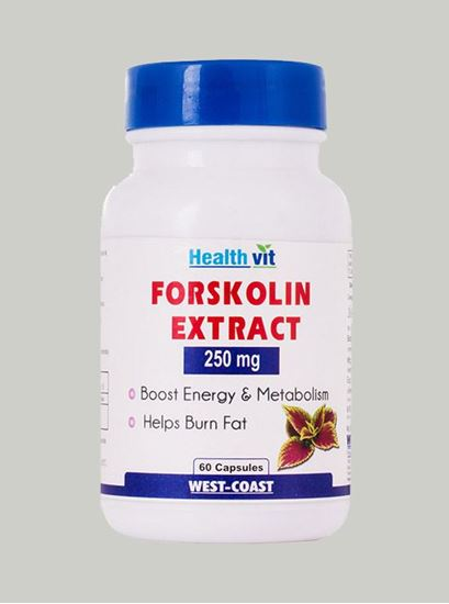 Picture of Healthvit Forskolin Extract 250 mg 60 Capsules