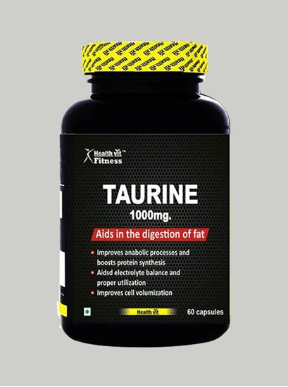Picture of Healthvit Fitness Taurine 1000 mg 60 Capsules