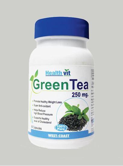Picture of Healthvit Green Tea 60 Capsules