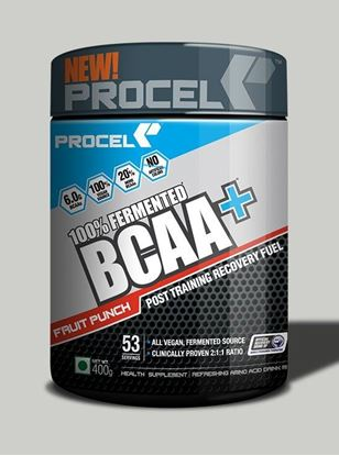 Picture of PROCEL - 100% Fermented BCAA+ Fruit Punch 53 Servings 400g