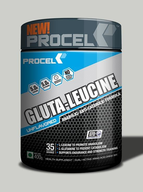 Picture of PROCEL - Gluta-Leucine Unflavoured 35 Servings 400g