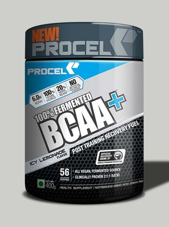 Picture of PROCEL 100% Fermented BCAA+ 400g Icy Lemonade