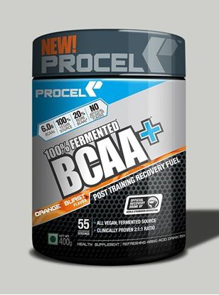 Picture of PROCEL 100% Fermented BCAA+ 400g Orange Burst