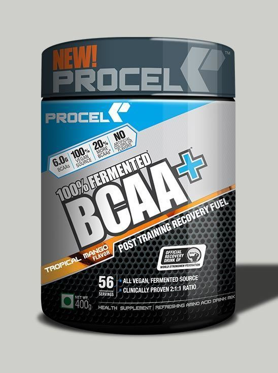 Picture of PROCEL 100% Fermented BCAA+ 400g Tropical Mango