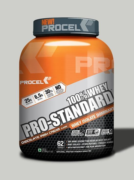 Picture of PROCEL Pro-Standard 100% Whey 2kg Chocolate Irish Cream