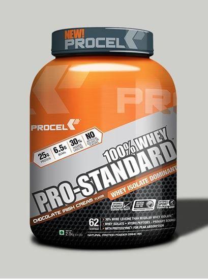 Picture of PROCEL Pro-Standard 100% Whey 2kg Chocolate Irish Cream