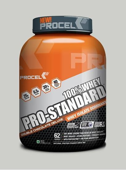Picture of PROCEL Pro-Standard 100% Whey Protein Double Chocolate 2kg