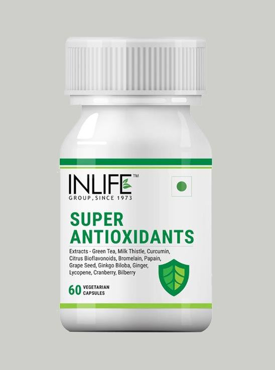 Picture of INLIFE - Super Antioxidants Immune Booster 60 Veg Capsules