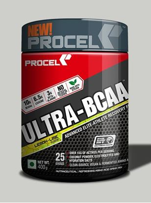 Picture of PROCEL ULTRA-BCAA with 2X Leucine 400g Lemon Lime