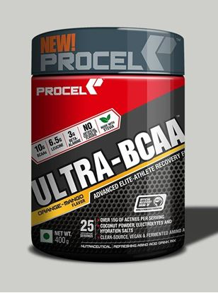 Picture of PROCEL ULTRA-BCAA with 2X Leucine 400g Orange-Mango