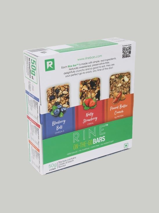 Picture of Rine Assorted Granola Bar Pack of 6