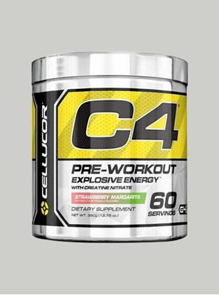 Picture of Cellucor C4 Pre Workout Chrome Strawberry Margarita 60 Servings