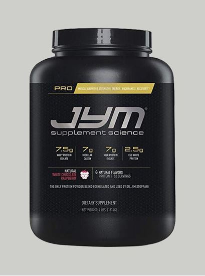 Picture of PRO JYM Natural White Chocolate Raspberry 4lbs