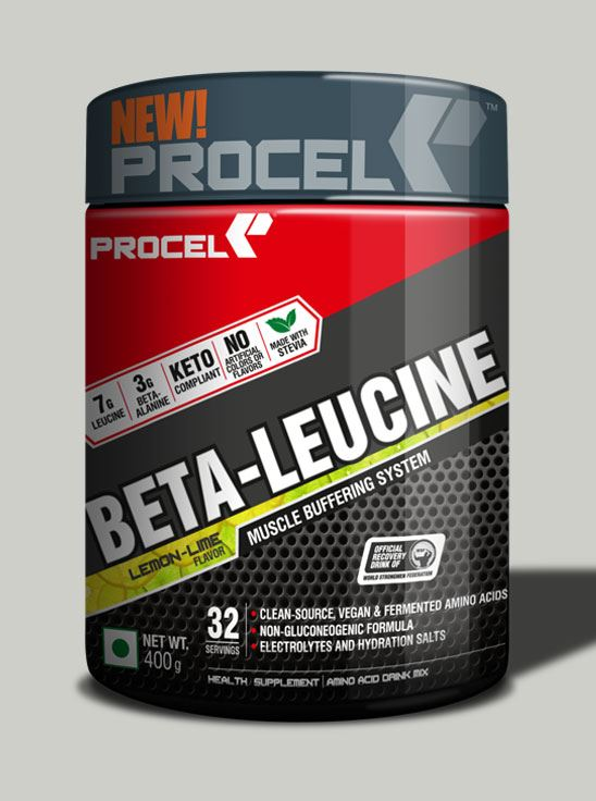 Picture of PROCEL BETA-LEUCINE Keto BCAA with 4X Leucine 400g Lemon-Lime
