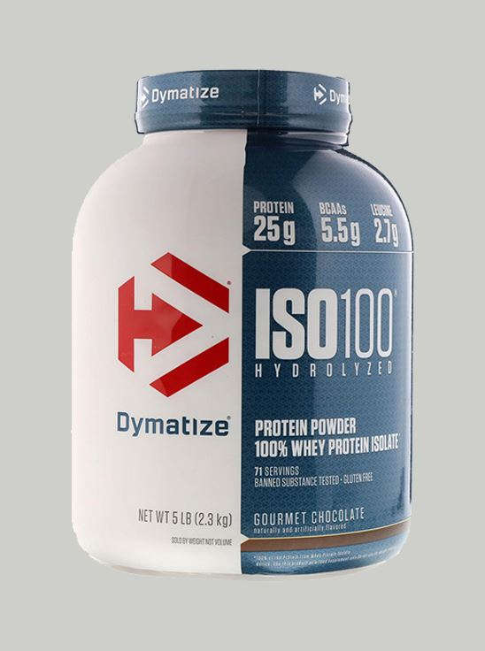 Picture of Dymatize ISO 100 Gourmet Chocolate 5 Lbs