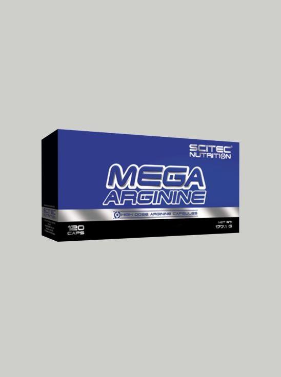 Picture of Scitec Mega Arginine 120 Capsules